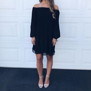 Black Wilfred dress, off the shoulder. Size XXS
